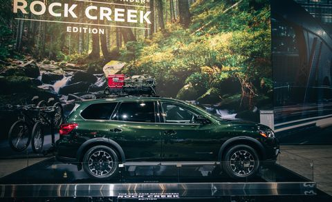 2019 Nissan Pathfinder Rock Creek Edition