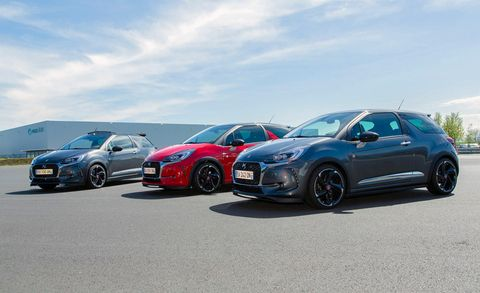 Citroëns Ds 3 Is An Upscale French Small Hatchback