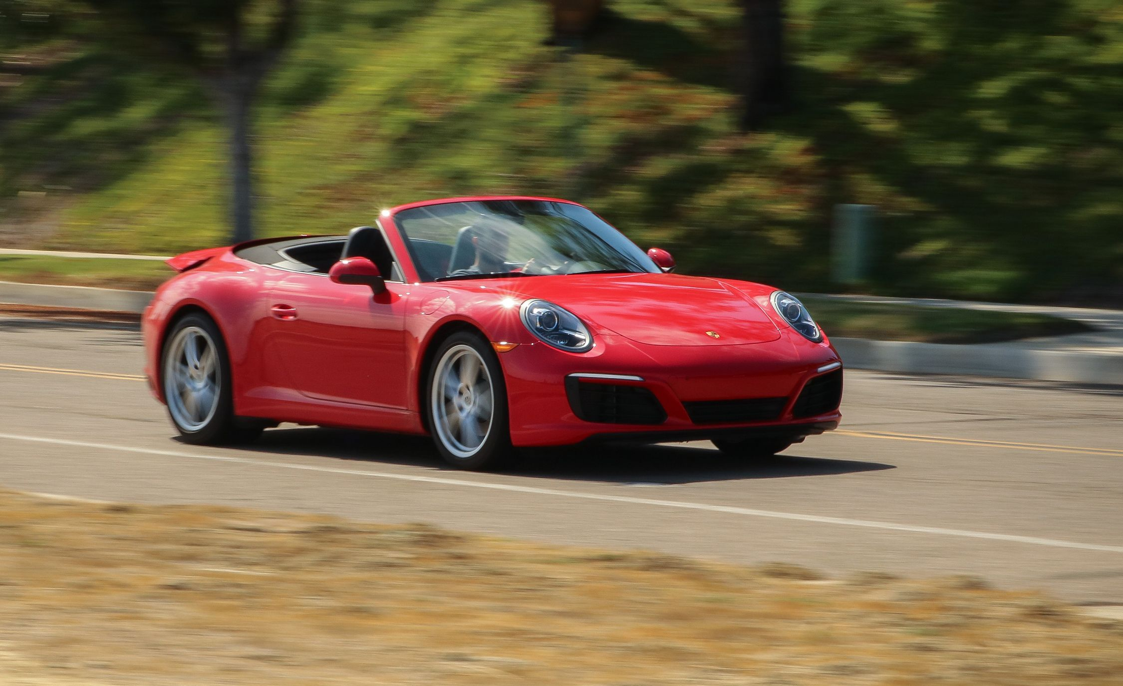 2018 Porsche 911 Cabriolet Pdk Automatic Test Merely A But Still Review Car And Driver