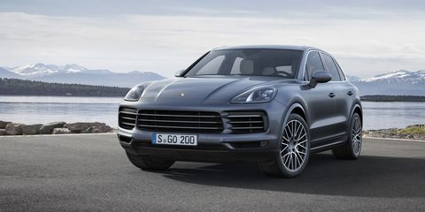 2019 porsche cayenne here it is