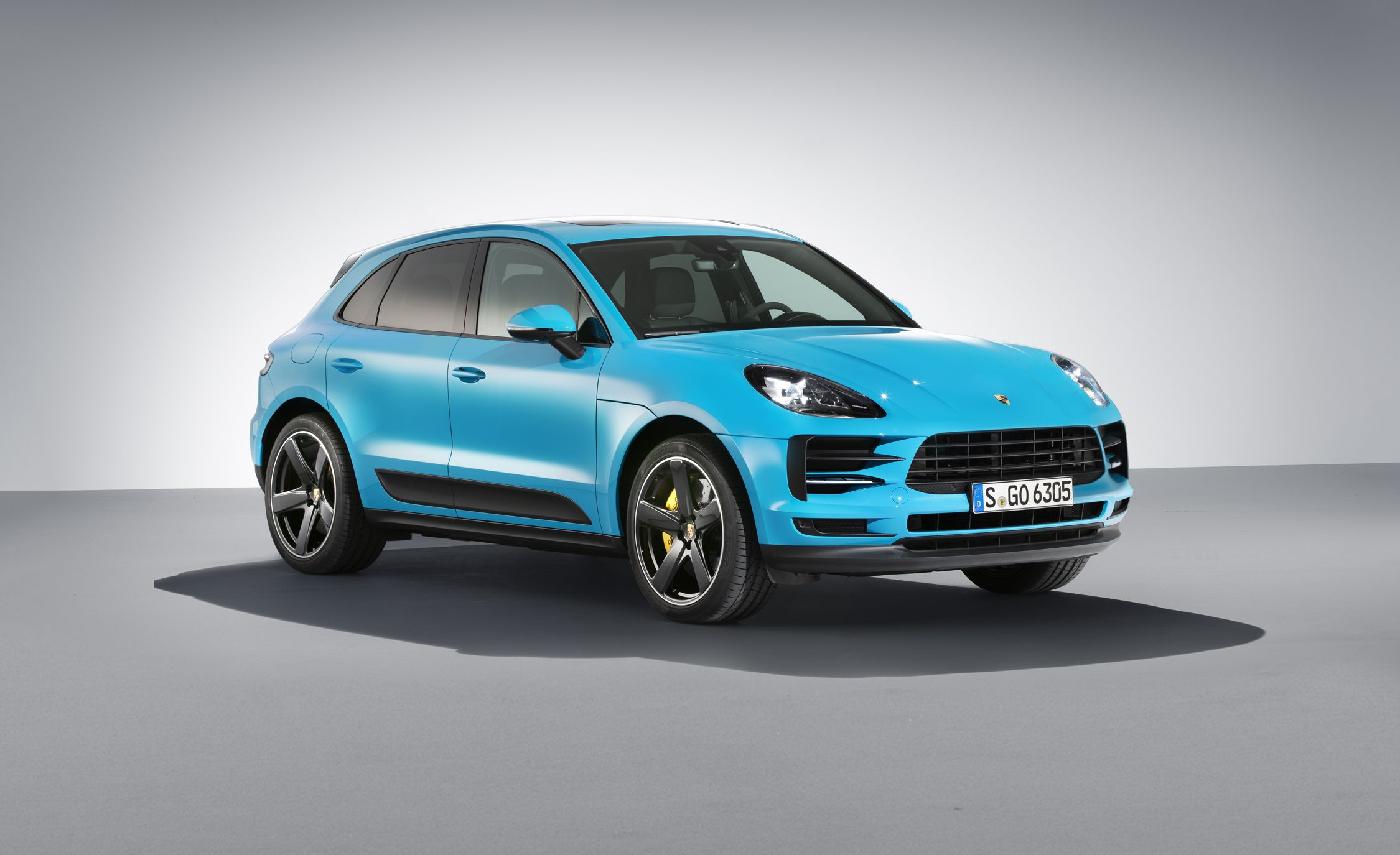 The 2019 Porsche Macan Has a New Look, New V,6s, More Power