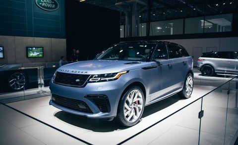 Range Rover Autobiography >> 550-HP Range Rover Velar SVAutobiography – The James Bond of SUVs