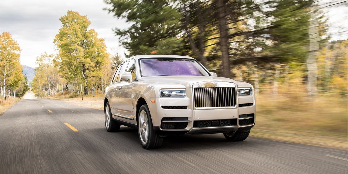 2019 Rolls-Royce Cullinan Is an SUV Fit for Royalty