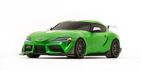 Land vehicle, Vehicle, Car, Sports car, Automotive design, Green, Bumper, Performance car, Automotive exterior, Hood,
