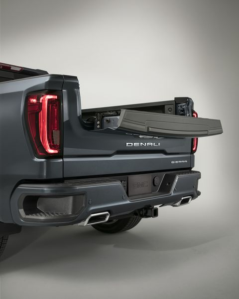 The 2019 Gmc Sierra Has A Carbon Fiber Box And A Wacky Two