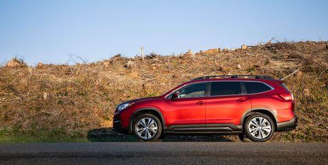 2019 Subaru Ascent side profile