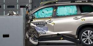 2019 Subaru Ascent crash test