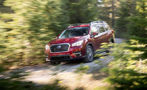 2019 Subaru Ascent 8 Seater (Tribeca Replacement SUV): Review, Price >> 2019 Subaru Ascent Test Review Car And Driver
