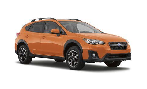 Land vehicle, Vehicle, Car, Motor vehicle, Automotive design, Bumper, Compact sport utility vehicle, Subaru, Rim, Sport utility vehicle,
