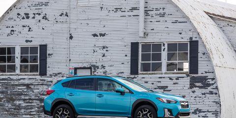 View Photos Of The New Subaru Crosstrek Hybrid