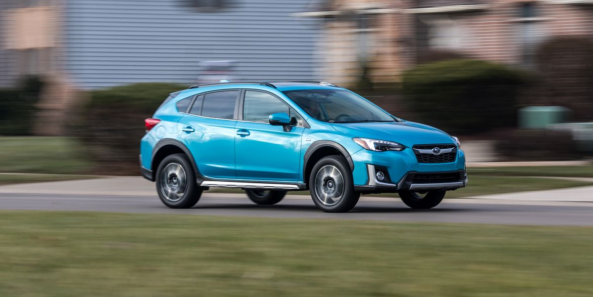 The 2019 Subaru Crosstrek Hybrid Plug In Offers Useful Ev Range