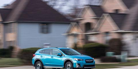 The Subaru Crosstrek Hybrid Offers Useful Ev Range