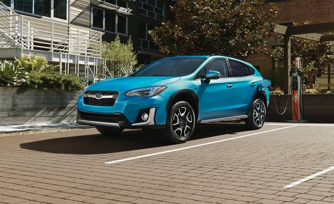 The 2019 Subaru Crosstrek Hybrid Is A Plug In With A Premium Price