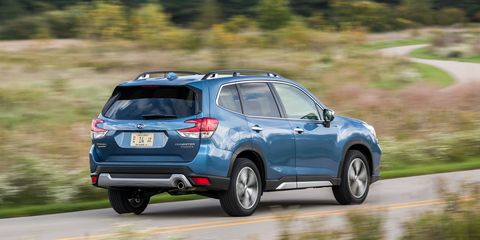 The 2019 Subaru Forester Goes For M Eal