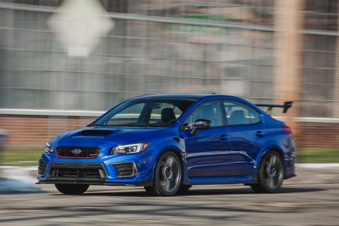 2019 Subaru STI S209 Is Wound Up and Ready for Action