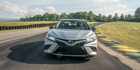2019 Toyota Camry XSE V-6 at Lightning Lap 2019