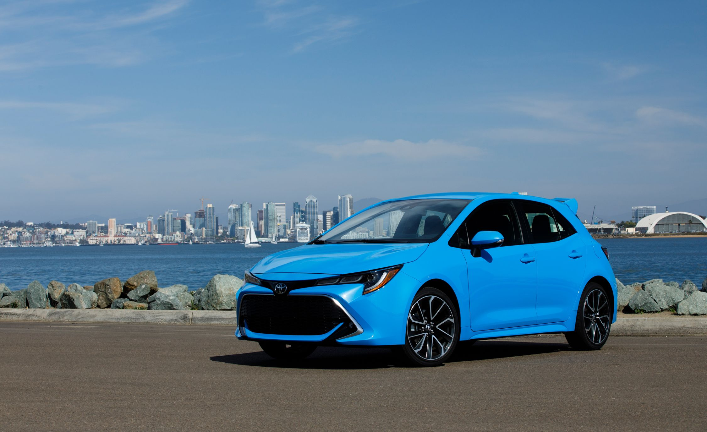 2019 Toyota Corolla Hatchback Starts At 20 910 News Car And Driver