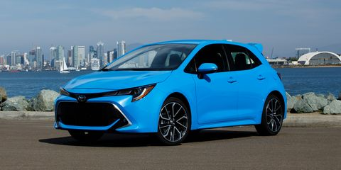 Land vehicle, Vehicle, Car, Automotive design, Blue, Mid-size car, Rim, Sky, Electric blue, Hatchback,