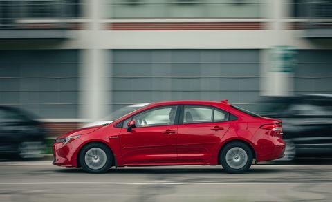 The 2020 Corolla Hybrid Sedan Is Slow Yet Highly Efficient