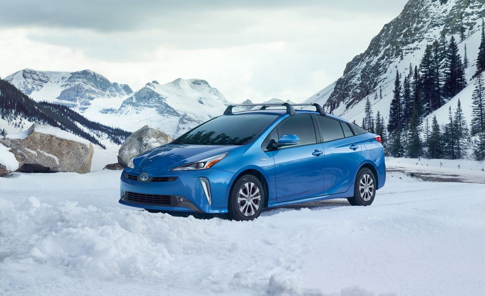 Now In Its Fourth Generation The 2019 Prius Has Received A Few Minor Cosmetic Changes Gest Change However Is Line Offers An