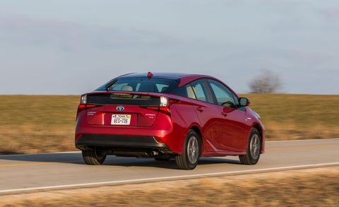 2019 Toyota Prius driving