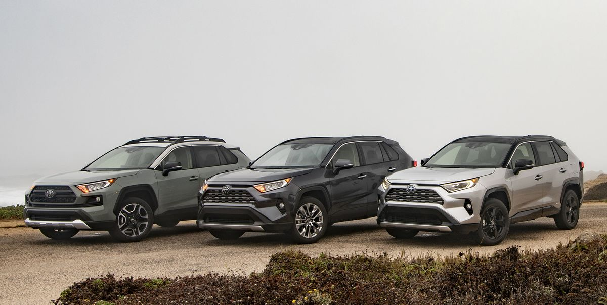 toyota rav pricing  crossover   broad lineup  trim levels