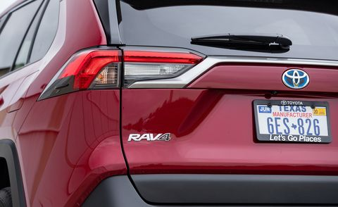 2019 Toyota RAV4 Limited Hybrid