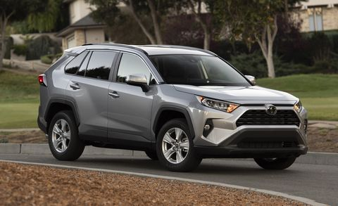 2019 Toyota Rav4 Pricing New Crossover Has A Broad Lineup Of