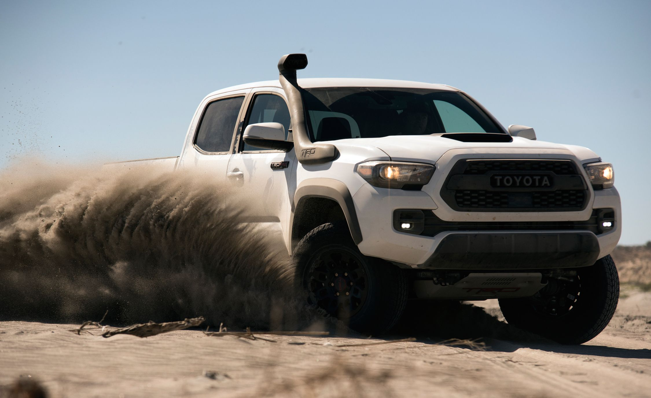 The Toyota Tacoma Pickup's Bad-Ass Off-Road Image Explained