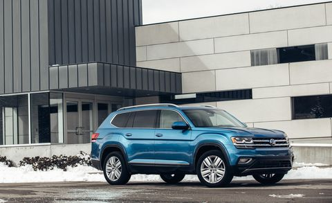 2018 VW Atlas R-Line: Styling, Interior, Arrival >> How Reliable Is The 2019 Volkswagen Atlas Sel