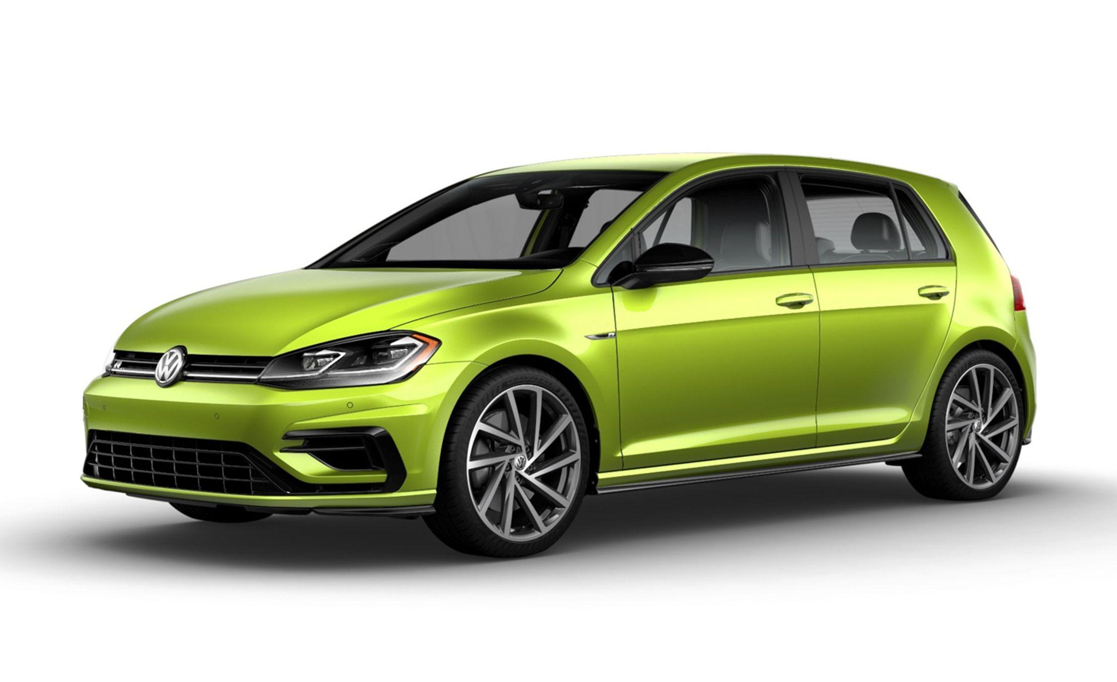 2019 Volkswagen Golf R Offers 40 New Colors