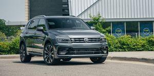 2019 Volkswagen Tiguan front