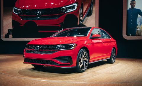 2019 Volkswagen Jetta Gli Turbocharged Sedan Version Of