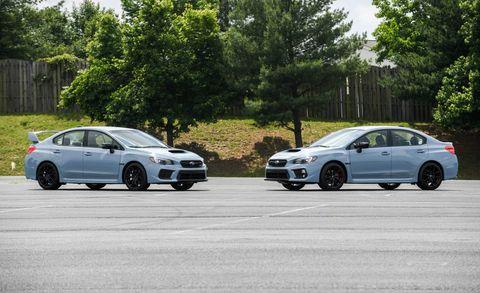 Land vehicle, Vehicle, Car, Mid-size car, Subaru, Rim, Subaru impreza wrx sti, Sedan, Sports sedan, Full-size car,