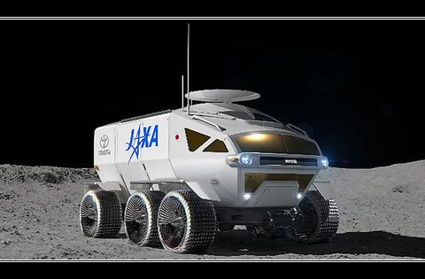 jaxa toyota pressurized vehicle