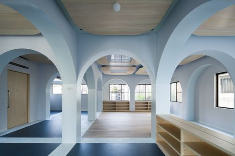 Ceiling, Building, Property, Architecture, Arch, Room, Interior design, Daylighting, Floor, House,