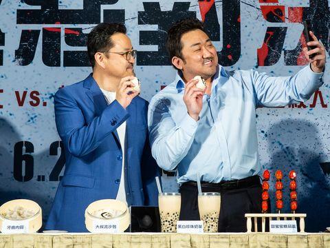 《極惡對決》馬東石和導演李元泰