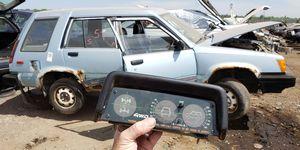 1984 Toyota Tercel 4WD Wagon Inclinometer