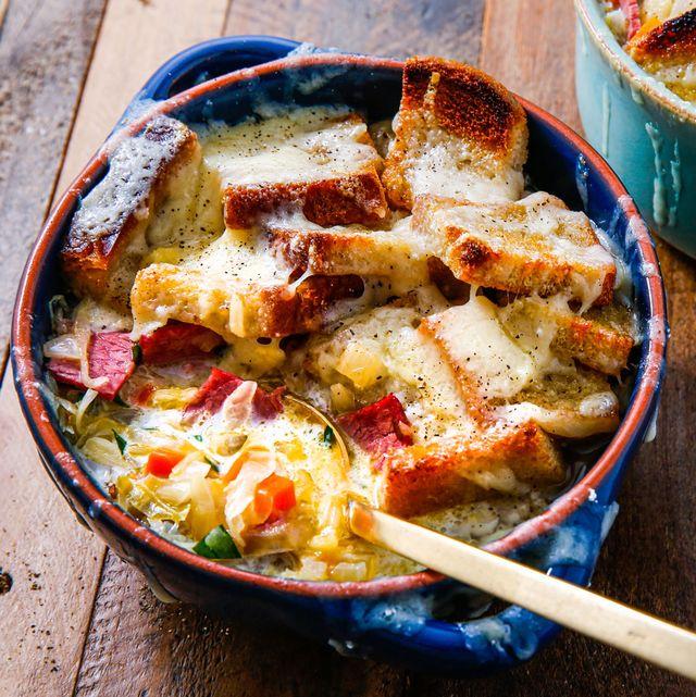 Creamy Reuben Soup - Delish.com