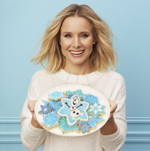 Kristen Bell - Frozen 2 Olaf Cookies