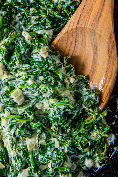 creamed spinach   delishcom