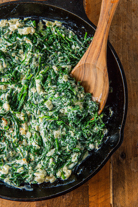Creamed Spinach - Delish.com