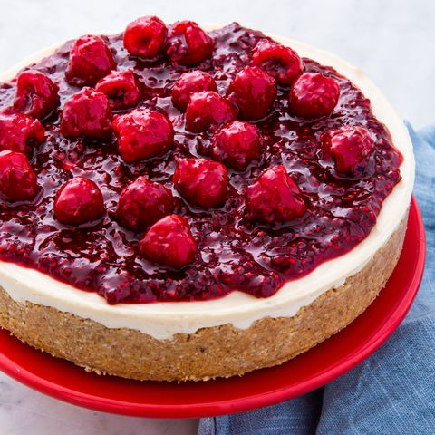Vegan Cheesecake - Delish.com