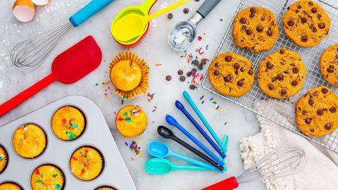 Food, Food coloring, Cuisine, Baking, Snack, Ingredient, Finger food, Dish, Dessert, Bake sale,