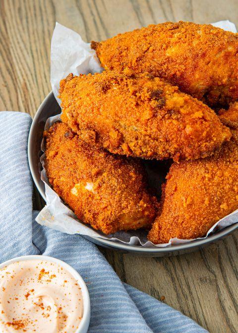 keto fried chicken   delishcom