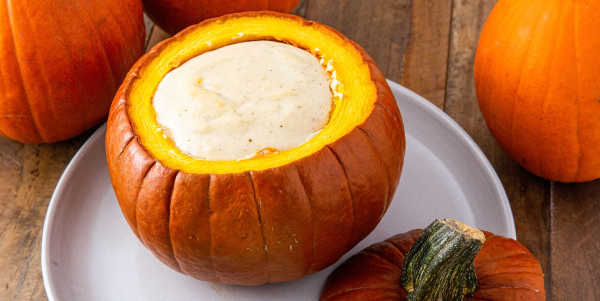 Cheesecake Stuffed Pumpkin Is The Epitome Of Fall