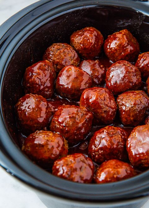 Grape Jelly Meatballs - Delish.com