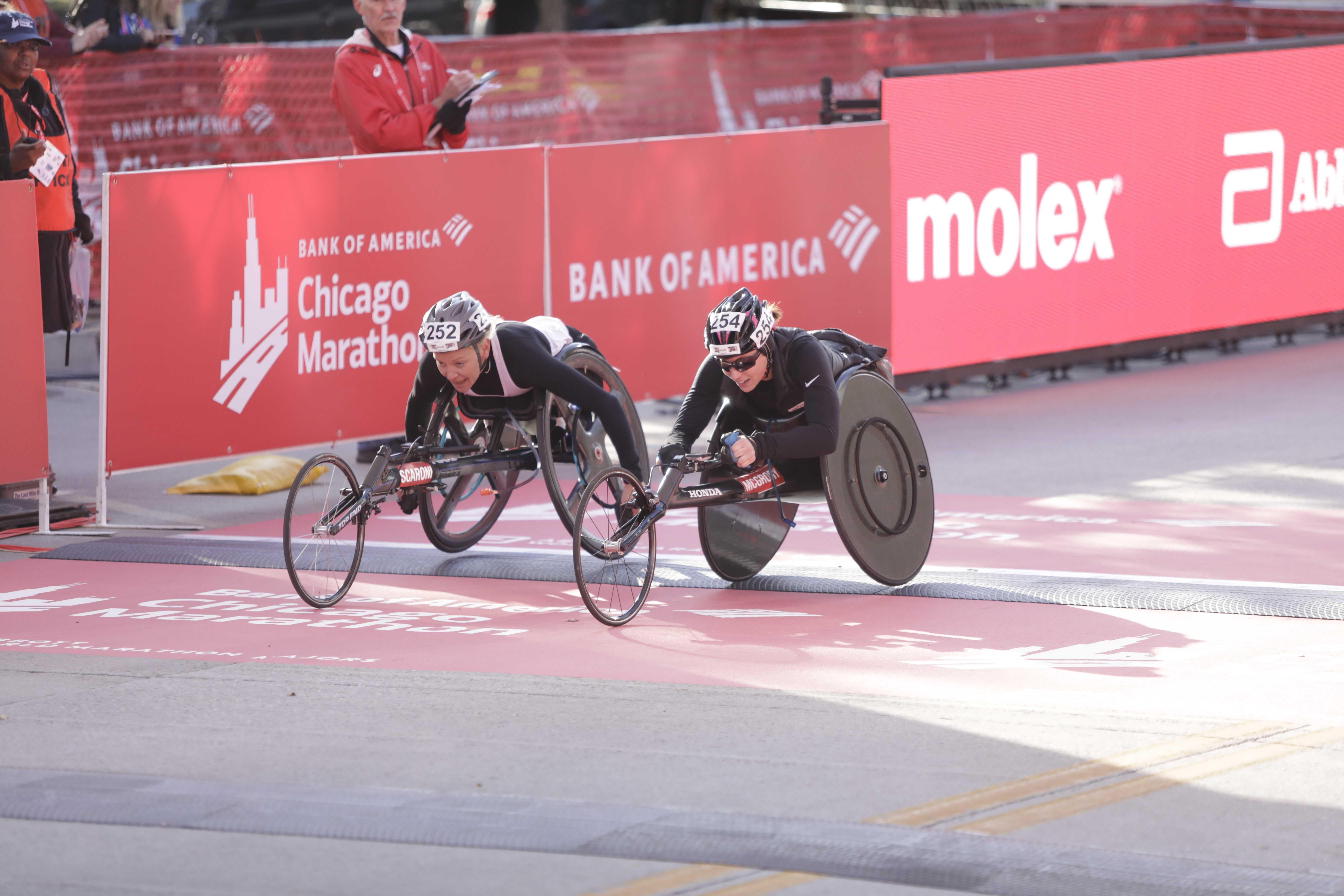 Three Qualify for U.S. Paralympic Marathon Teams at Chicago Marathon