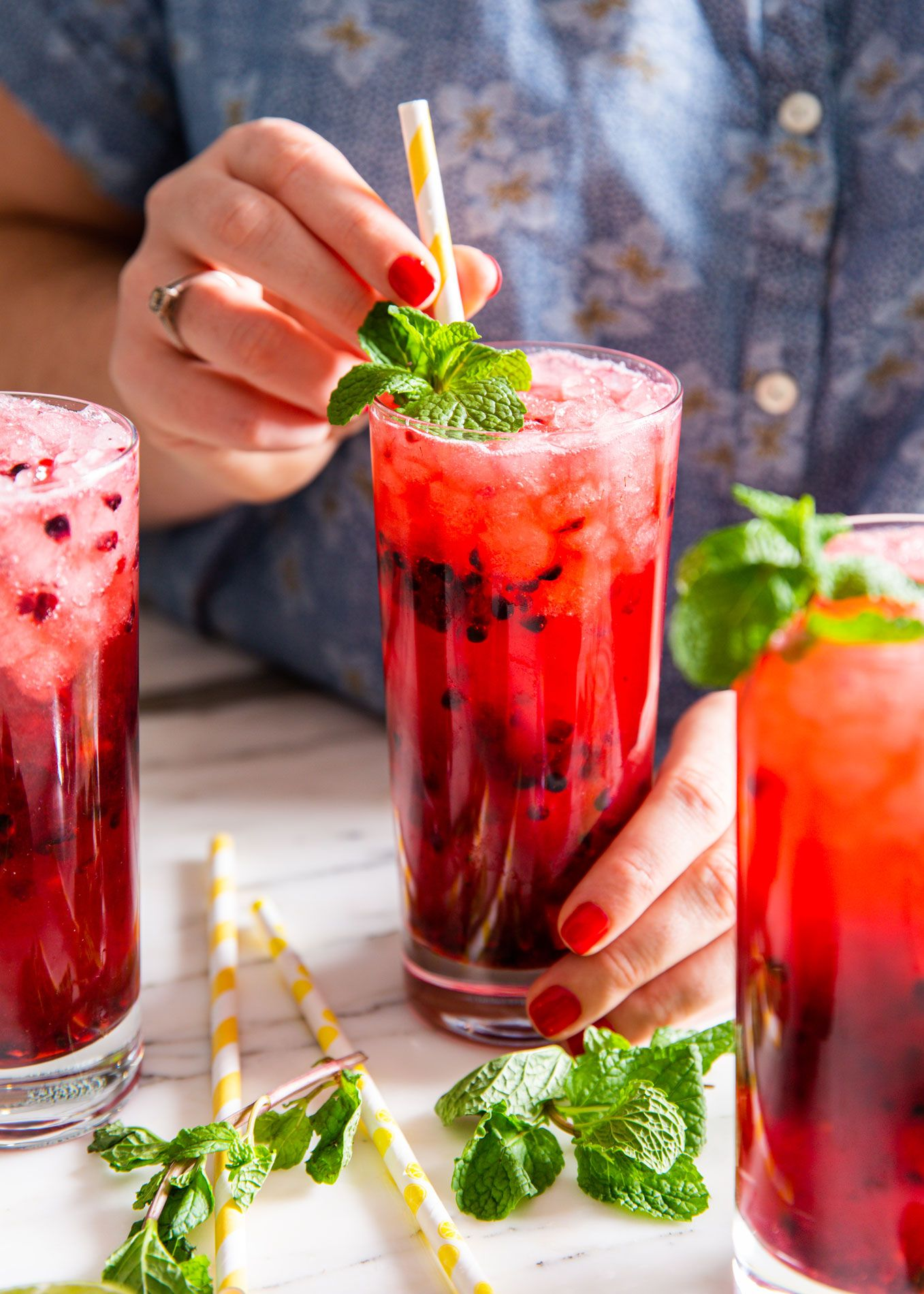 20 Easy Non Alcoholic Party Drinks Recipes For Alcohol Free Summer Drinks