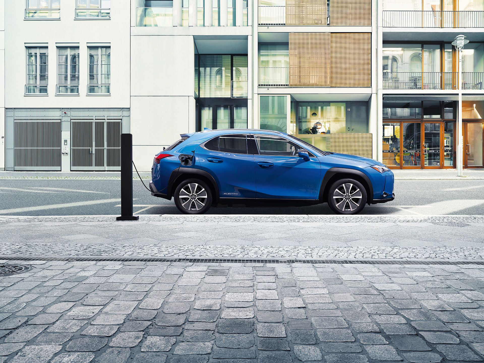 Lexus Adds First All Electric Vehicle The Ux300e To Global Markets